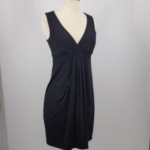 Ann Taylor Petites black knit dress-sz XSP